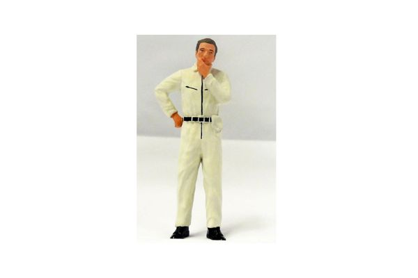 figurenmanufaktur 1/18scale Mechanic (in thinking) White [No.FIG180127]