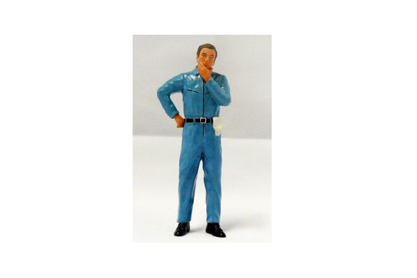 figurenmanufaktur 1/18scale Mechanic (in thinking) Blue  [No.FIG180130]