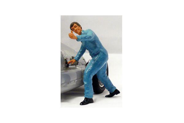 figurenmanufaktur 1/18scale Mechanic (GOOD! Pause) Blue  [No.FIG180134]