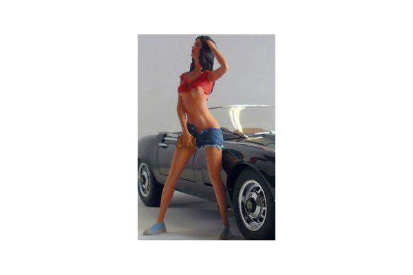 figurenmanufaktur 1/18scale Car Wash Girl Steffi  [No.FIG180143]