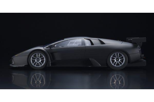 KYOSHO ORIGINAL 1/18scale Lamborghini Murcielago R-GT Matte Black  [No.KSR18505BK]