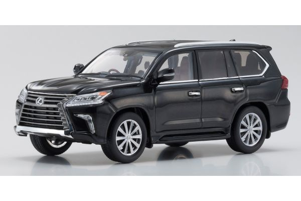 KYOSHO ORIGINAL 1/43scale Lexus LX570 Starlight Black Glass Flake  [No.KS03674SBK]