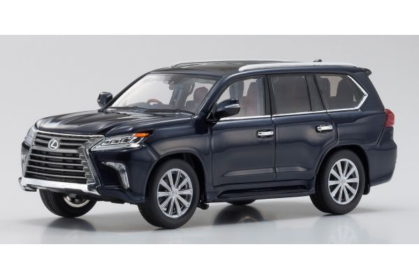 KYOSHO ORIGINAL 1/43scale Lexus LX570 Deep Blue Mica  [No.KS03674DB]