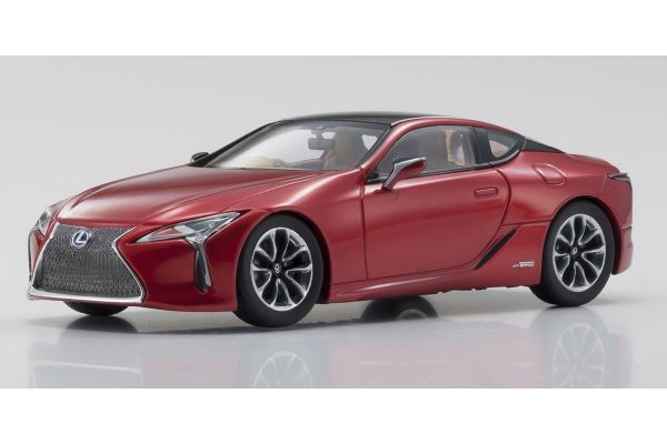 KYOSHO ORIGINAL 1/43scale Lexus LC500h  Radiant Red Contrast Layering  [No.KS03675RR]