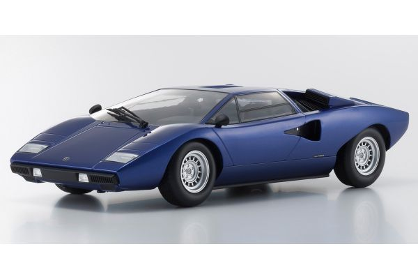 OUSIA 1/18scale Lamborghini Countach LP400 blue metallic  [No.KSC09531BL]