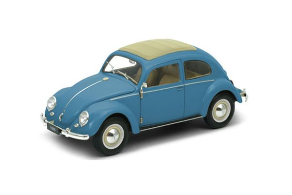 WELLY 1/18scale VW クラシック ビートル BLUE [No.WE18040BL]