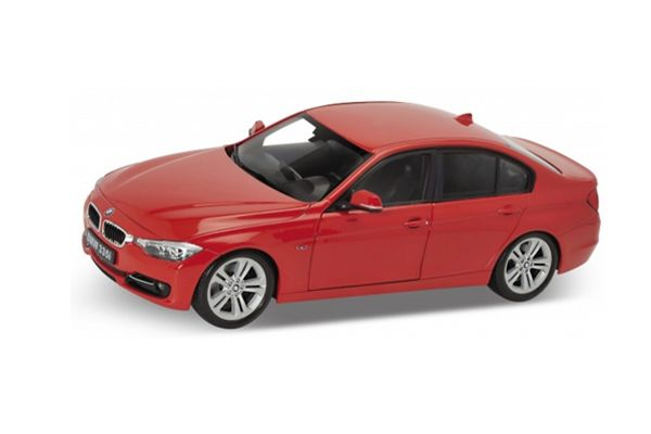 WELLY 1/18scale BMW 335i (Red)  [No.WE18043R]