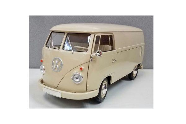 WELLY 1/18scale VW T1 bus 1963 (PANEL VAN) Cream [No.WE18053CR]