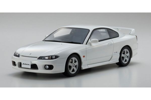 OttO mobile 1/18scale Nissan Silvia Spec-R (S15) Pearl white -OttO Mobile Kyosho Exclusive-  [No.OTM726]