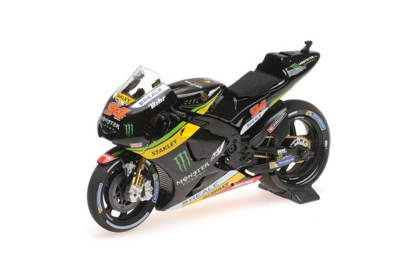 MINICHAMPS 1/18scale YAMAHA YZR-M1 MONSTER YAMAHA TECH3 - JONAS FOLGER - TEST 2016  [No.182163994]