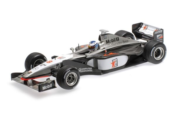 MINICHAMPS 1/18scale MCLAREN MERCEDES MP4/13 – MIKA HAKKINEN – WORLD CHAMPION – 1998  [No.186980008]