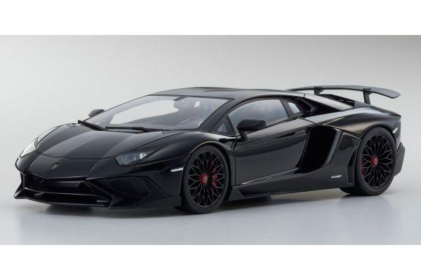 OUSIA 1/18scale Lamborghini Aventador SV (Black)  [No.KSC09521BK]