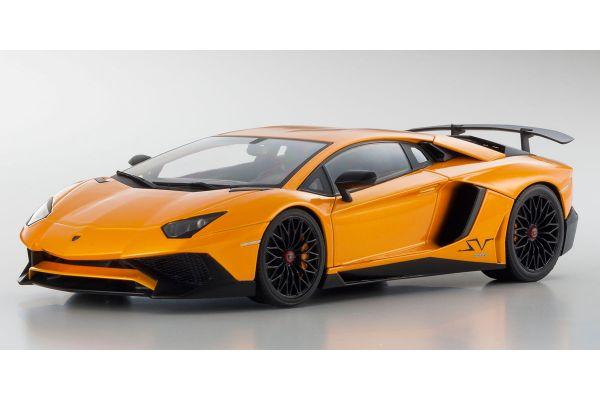 OUSIA 1/18scale Lamborghini Aventador SV (Orange)  [No.KSC09521P]