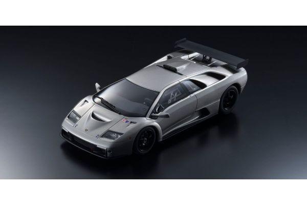 KYOSHO ORIGINAL 1/18scale Lamborghini Diablo GTR (Silver)  [No.KSR18509S]