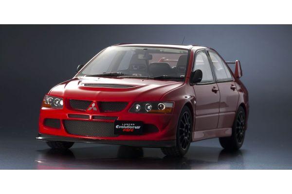OttO mobile 1/18scale Mitsubishi Lancer Evolution VIII MR FQ-400 (Red) OttO Mobile Kyosho Exclusive model  [No.OTM672]