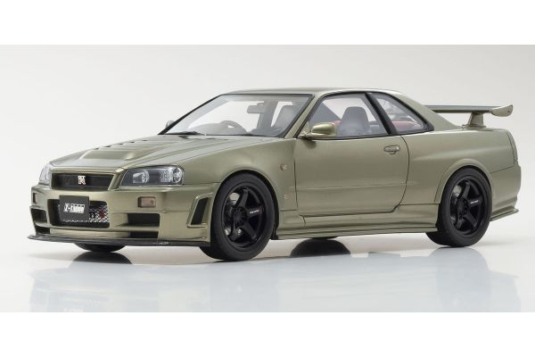 OttO mobile 1/18scale NISMO GT-R Z-tune (Green) 300 world limited Otto Mobile Kyosho Exclusive  [No.OTM834]