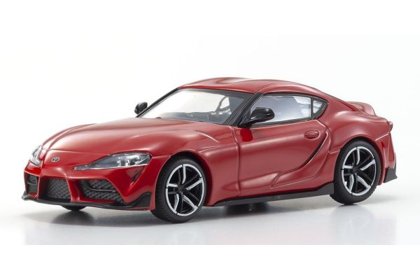 KYOSHO ORIGINAL 1/64scale TOYOTA GR SUPRA (RED)  [No.KS07110R]