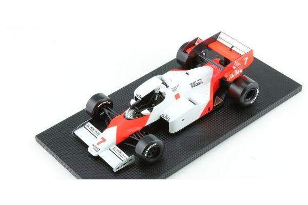 TOPMARQUES 1/18scale McLaren MP 4/2 No. 7 1984 Alain prost  [No.GRP005B]