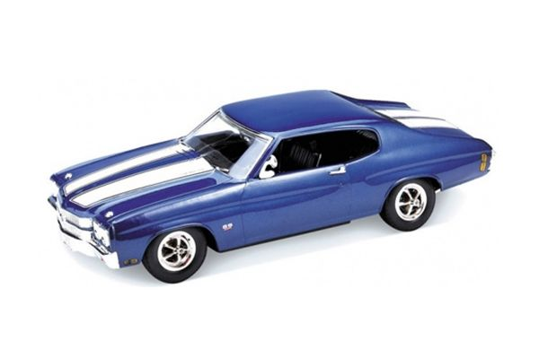 WELLY 1/18scale 1970 CHEVROLET CHEVELLE SS 454 BLUE [No.WE19855BL]