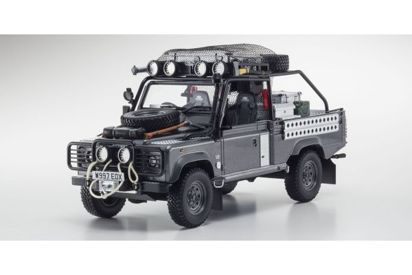 KYOSHO 1/18scale Land Rover Defender movie edition Corris Grey [No.KSR08902TR]