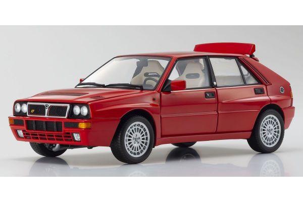 KYOSHO ORIGINAL 1/18scale Lancia Delta Integrale Evolzione II Red  [No.KS08343R]