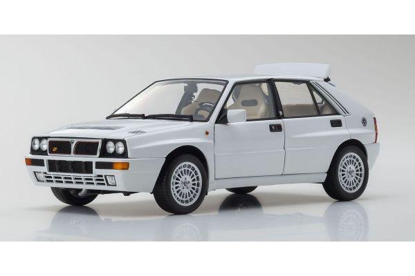 KYOSHO ORIGINAL 1/18scale Lancia Delta Integrale Evolzione II White  [No.KS08343W]