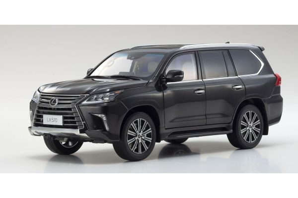 KYOSHO ORIGINAL 1/18scale Lexus LX570 (Left-Hand Drive Specification) (Starlight Black Glass Flake)  [No.KS08955SBK]