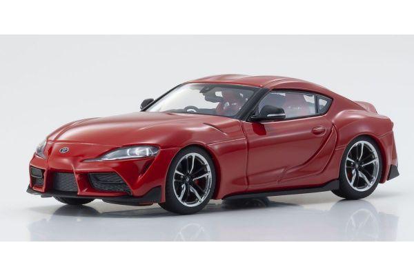 KYOSHO ORIGINAL 1/43scale Toyota GR Supra Red  [No.KS03700R]