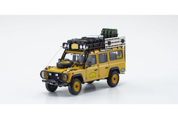 ALMOST REAL 1/43scale LAND ROVER DEFENDER 110 – CAMEL TROPHY Yellow  [No.AL410305]