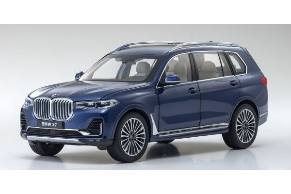 KYOSHO ORIGINAL 1/18scale BMW X7(PHAITNIC BLUE)  [No.KS08951PBL]