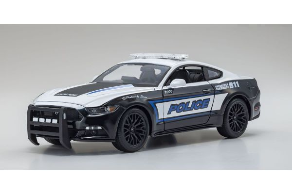 MAISTO 1/18 フォード マスタング GT 2015 ポリス MS31397PL