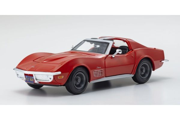 MAISTO 1/24scale Corvette 1970 Red  [No.MS31202R]