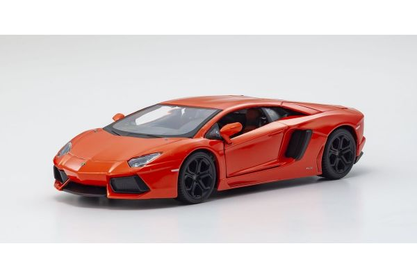 MAISTO 1/24scale Lamborghini Aventador Coupe (MT Orange)  [No.MS31210MO]