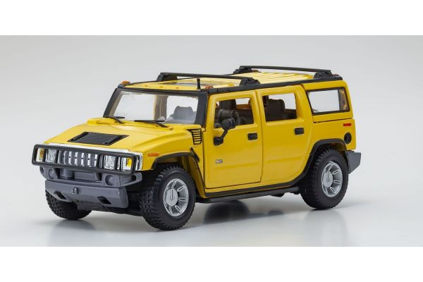 MAISTO 1/27scale Hummer H2 Yellow  [No.MS31231Y]