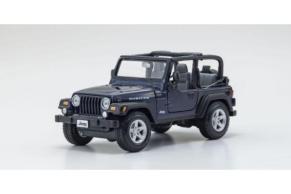 MAISTO 1/27scale Jeep Wrangler Rubicon MT Blue  [No.MS31245MB]