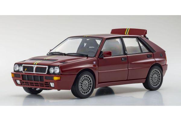KYOSHO ORIGINAL 1/18scale Lancia Delta HF Integrale Evo.II Edizione Finale (Bordeaux Red)  [No.KS08343C]