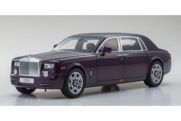 KYOSHO ORIGINAL 1/18scale Rolls-Royce Phantom EWB (Twilight Purple)  [No.KS08841TP]