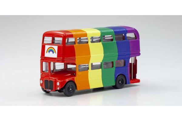 CORGI 1/64scale Double-decker London bus Rainbow  [No.CGGS82337]
