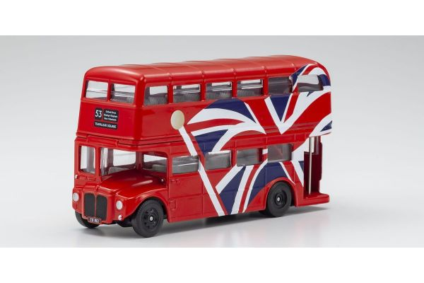 CORGI 1/64scale Best of British London Double Decker Bus Union Jack  [No.CGGS82336]