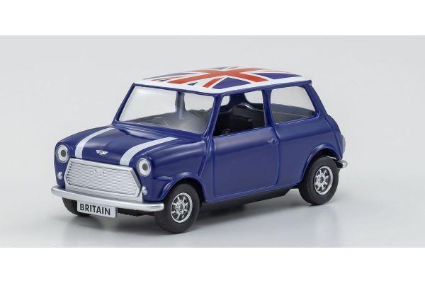 CORGI 1/36scale Best of British Classic Mini (Blue)  [No.CGGS82113]