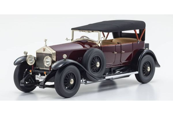 KYOSHO ORIGINAL 1/18scale Rolls-Royce Phantom I (Burgundy Red)  [No.KS08931R]