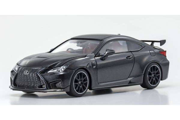 KYOSHO ORIGINAL 1/43scale Lexus RC F Performance Package (Graphite Black Glass Flake) (Right Handle)  [No.KS03698GBK]