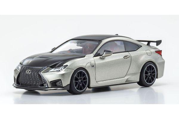 KYOSHO ORIGINAL 1/43scale Lexus RC F Performance Package (Sonic Titanium) (Right Handle)  [No.KS03698T]