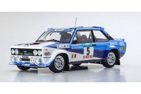KYOSHO ORIGINAL 1/18scale Fiat 131 Abarth Rally 1980 Portugal # 5  [No.KS08376A]