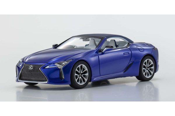 KYOSHO ORIGINAL 1/43scale Lexus LC500 Convertible (Structural Blue)  [No.KS03902BL]