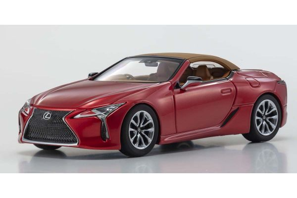 KYOSHO ORIGINAL 1/43scale Lexus LC500 Convertible (Radiant Red Contrast Layering)  [No.KS03902RR]