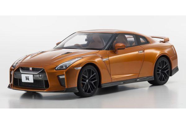 SAMURAI 1/18scale Nissan GT-R 2017 Orange  [No.KSR18020OR]