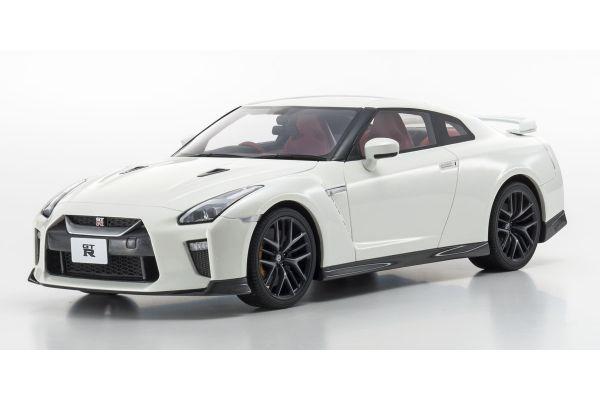 SAMURAI 1/18scale Nissan GT-R 2017 White  [No.KSR18020W]