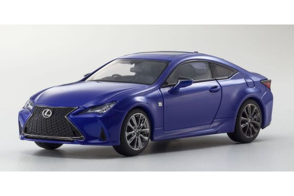 KYOSHO ORIGINAL 1/43scale Lexus RC350 F SPORT Heat Blue Contrast Layering  [No.KS03697BL]