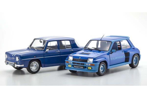 SOLIDO 1/18scale Renault 5 Turbo & 8 Gordini 1100 2 set (blue)  [No.S180005P]